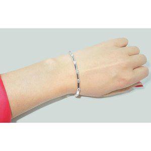 2.5 carats round diamonds bar bracelet Clean desig